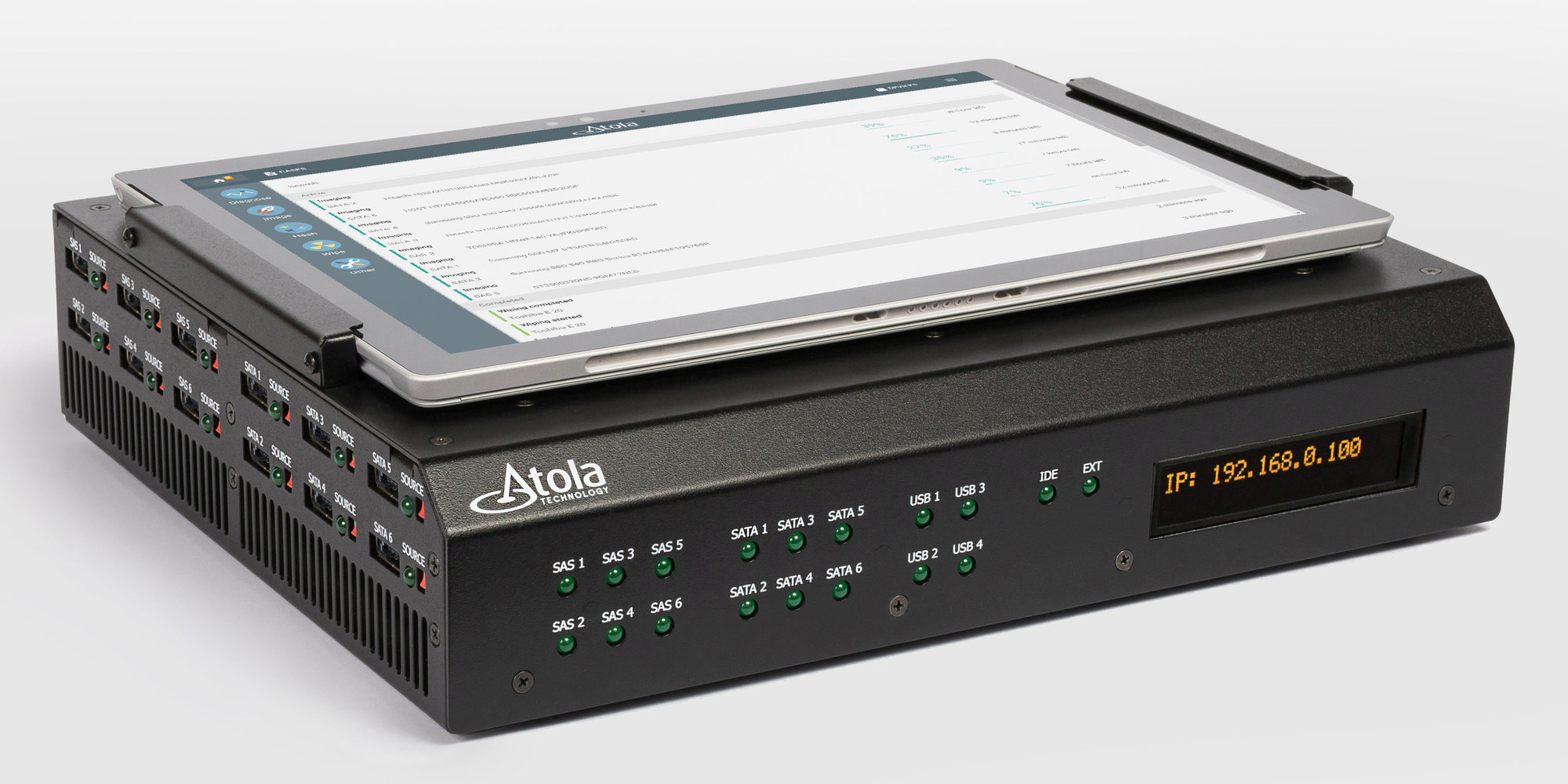 Forensic Imager With 18 Ports